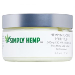 Hemp Intensive Healing Pain Rub 3.8oz